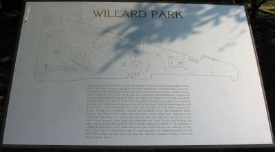 Willard Park Marker image. Click for full size.