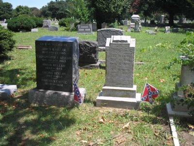 Confederate Grave image. Click for full size.