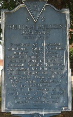William Bullein Johnson Marker image. Click for full size.