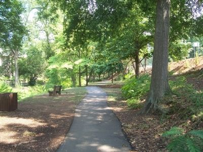 McPherson Park Walking Path image. Click for full size.