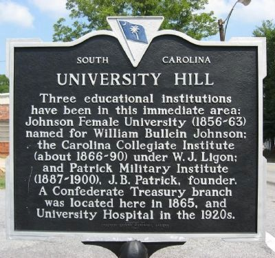 University Hill Marker image. Click for full size.