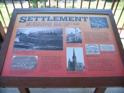 Settlement Marker image. Click for full size.