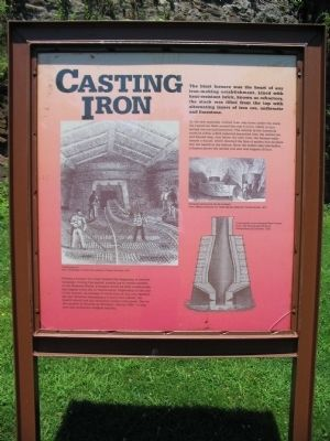 Casting Iron Marker image. Click for full size.