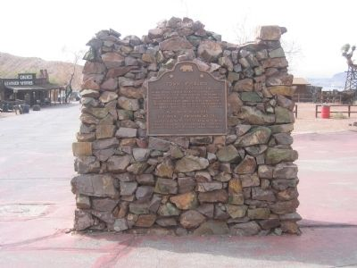 Town of Calico Marker image. Click for full size.