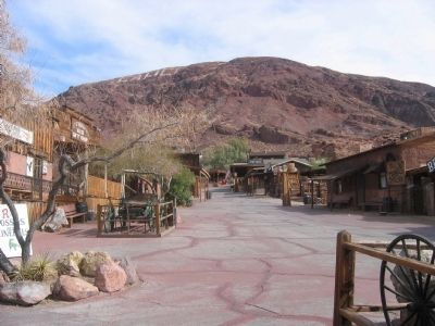 The Main Street of Calico image. Click for full size.