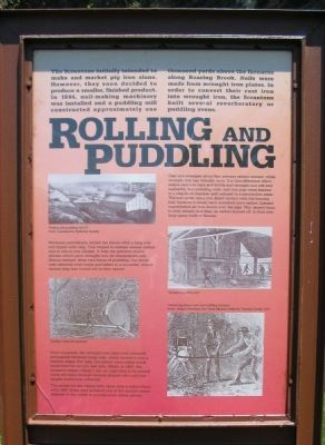 Rolling and Puddling Marker image. Click for full size.
