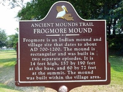 Frogmore Mound Marker image. Click for full size.