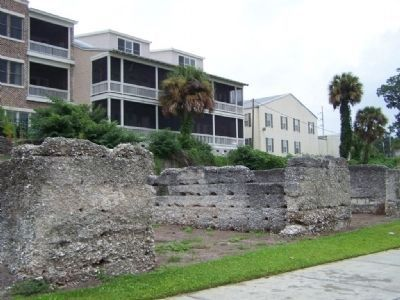Darien Waterfront ruins image. Click for full size.