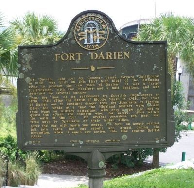 Fort Darien Marker image. Click for full size.