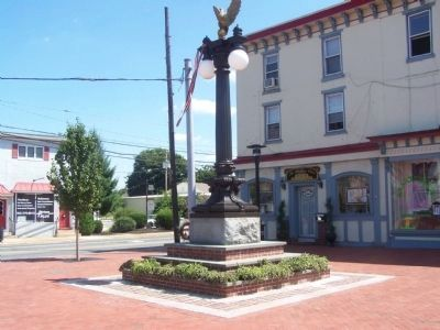 Middletown World War I Memorial image. Click for full size.