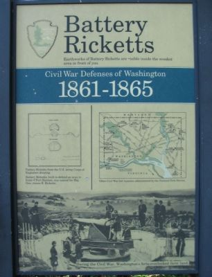 Battery Ricketts Marker image. Click for full size.
