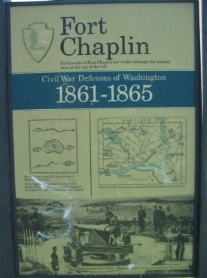 Fort Chaplin Marker image. Click for full size.