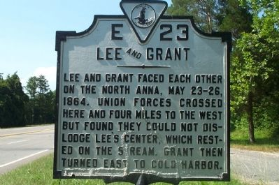 Lee and Grant Marker image. Click for full size.