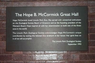 The Hope B. McCormick Great Hall image. Click for full size.