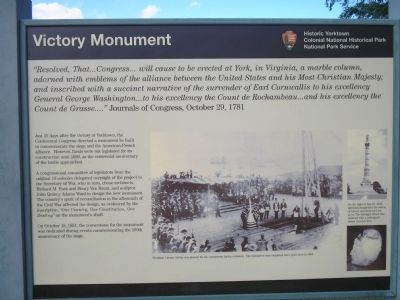 Victory Monument Marker image. Click for full size.