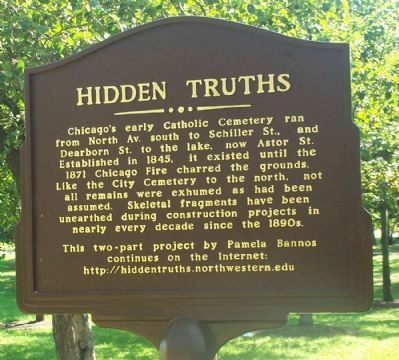 Catholic Cemetery Marker image. Click for full size.