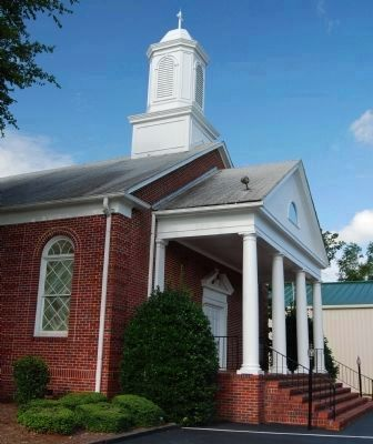 Hopewell Baptist Church (1949) image. Click for full size.