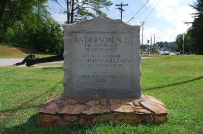 Anderson, S.C. Marker image. Click for full size.