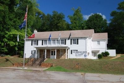 American Legion, Ralph J. Ramer Hut<br>W.A. Hudgens Post #14<br>Greenville Street image. Click for full size.