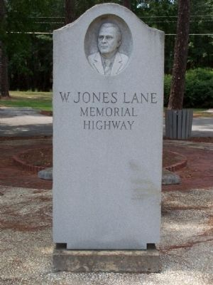 W. Jones Lane Highway Marker image. Click for full size.