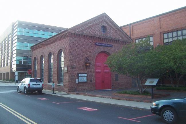 Ship A Car Direct >> Washington Navy Yard Chapel Historical Marker