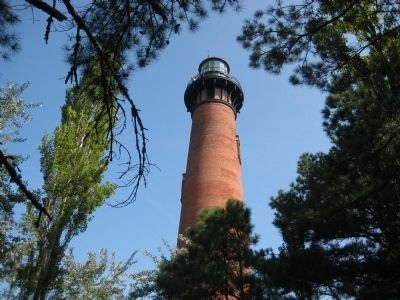 Currituck Beach Lighthouse Tower image. Click for full size.