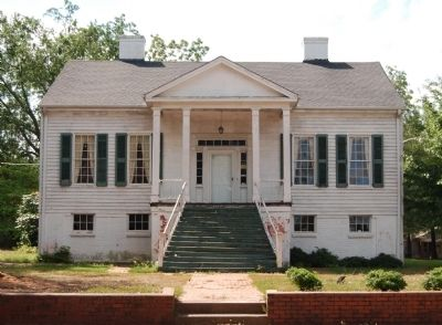 Caldwell-Johnson-Morris Cottage (ca. 1851)<br>220 East Morris Street<br>North (Front) Facade image. Click for full size.