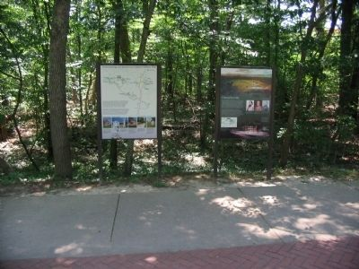 Chancellorsville Marker and Park Orientation Kiosk image. Click for full size.