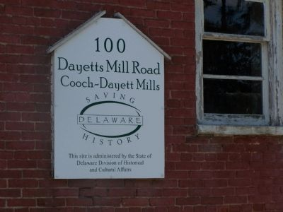 Dayetts Mill Sign image. Click for full size.