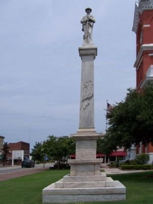 Statesboro Confederate Monument image. Click for full size.
