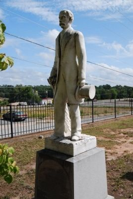 James E. Peoples Monument<br>First Baptist Church Cemetery, Anderson, SC image. Click for full size.