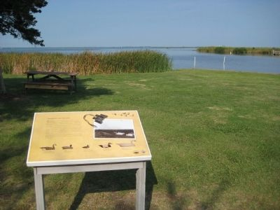 Waterfowl Resting Area Marker image. Click for full size.