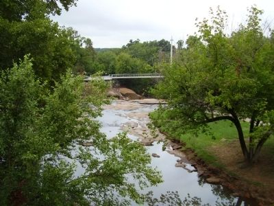 View of the Reedy River. image. Click for full size.