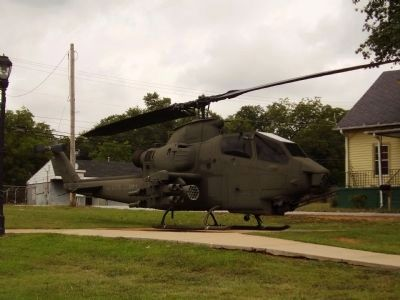Nearby AH-1 Cobra Helicopter image. Click for more information.