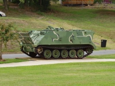 Nearby M106A1 Mortar Carrier image. Click for more information.