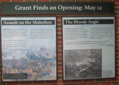 Grant Finds an Opening: May 12 Marker image. Click for full size.