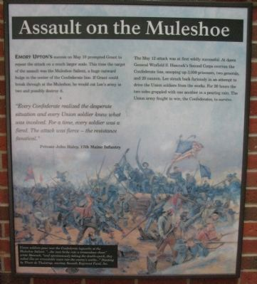 Assault on the Muleshoe Panel image. Click for full size.