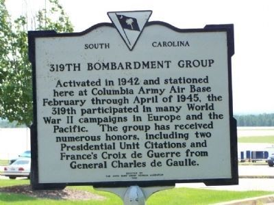 319th Bombardment Group Marker image. Click for full size.