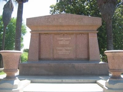 Mark Hopkins Monument image. Click for full size.