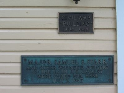 Civil War Building image. Click for full size.