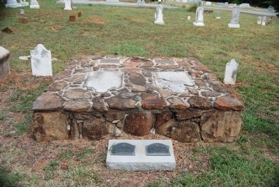 Simpson Burial Site - Headstone View image. Click for full size.