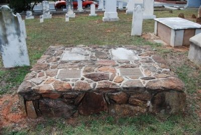 Simpson Burial Site - Footstone View image. Click for full size.