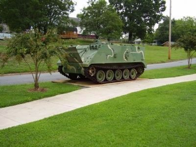 M106A1 Mortar Carrier and Marker image. Click for full size.