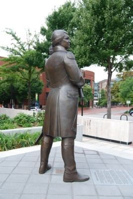 Nathanael Greene Statue image. Click for full size.