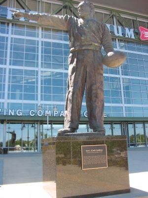 Earl L. (Curly) Lambeau Marker image. Click for full size.