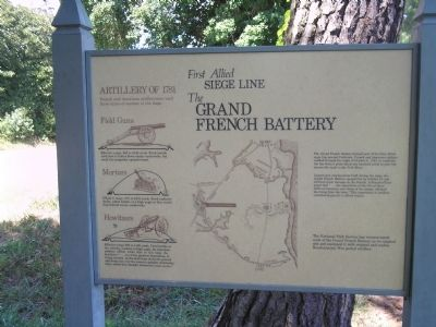 The Grand French Battery Marker image. Click for full size.