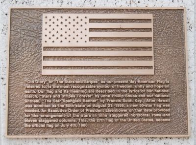 Old Glory Marker image. Click for full size.