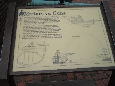 Mortars vs. Guns Marker image. Click for full size.