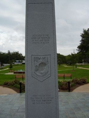 All Wars Memorial Marker </b>(east face) image. Click for full size.