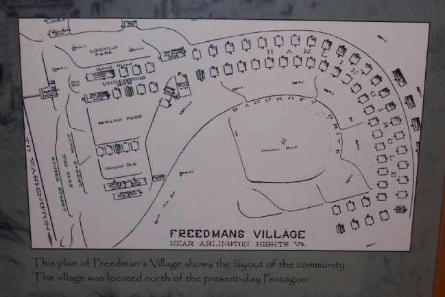 Freedman's Village, Arlington Heights, Va image. Click for full size.